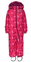 Зимний комбинезонLEGOWear(Дания) для девочки 98, 104, 110, 116, 122 см сдельный розовый, фото 1