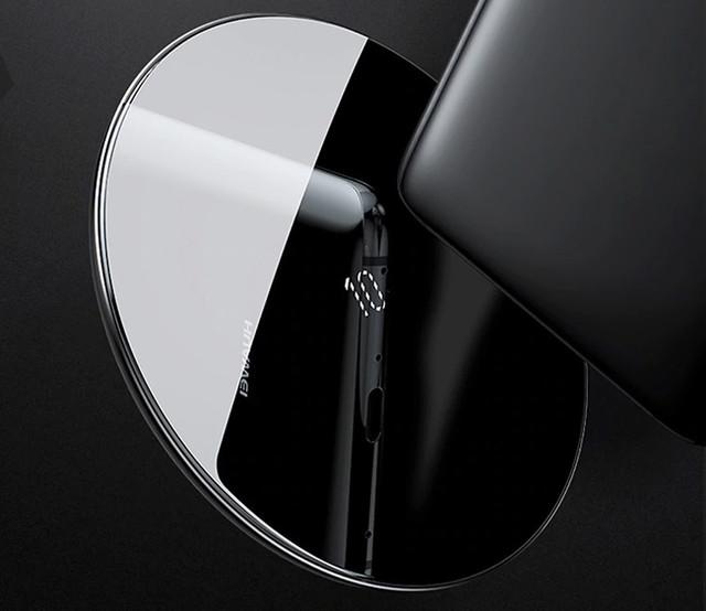 Бездротове зарядний пристрій Baseus Simple Wireless Charger CCALL-CJK01 Чорне