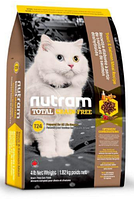 Корм холистик Nutram Total GF с лососем и форелью для кошек всех пород