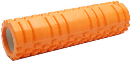 Массажный валик (ролик) для йоги / Оранжевый / 29х8 см. - MS 1836, фото 2