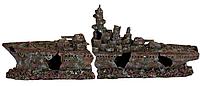 Декорация Trixie Затонувший линкор времён II-й мировой, 70 см