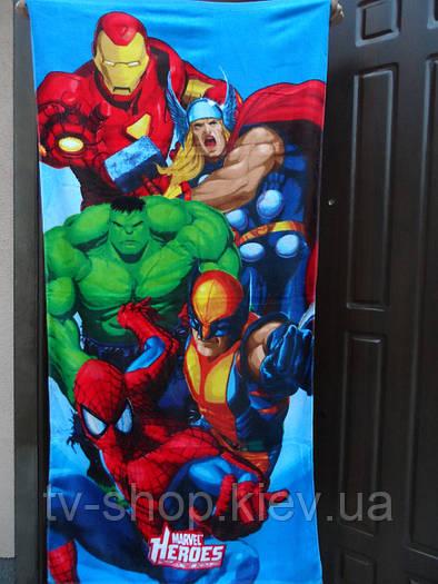 Пляжное полотенце Супергерои