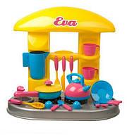 Стол-кухня Ева (чайник+сковорода+...) в коробке /3/ (04-408)