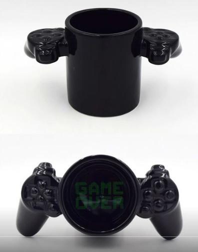 Керамическая Чашка Game Over Black