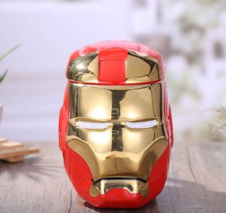 Чашка 3D железный человек 530 мл top-723, фото 2