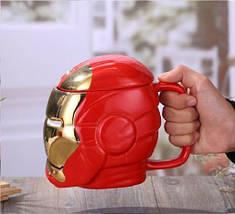 Чашка 3D железный человек 530 мл top-723, фото 3