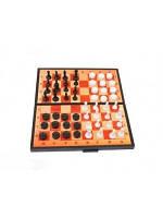 Шахматы 3 в 1 (шаш.+нарды+шахм.) Максимус /30/ (5196)