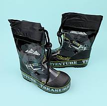 Дитячі Гумові чоботи для хлопчика тм Джип Bi&Ki розмір 25, фото 2
