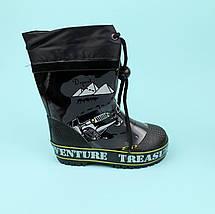 Детские Резиновые сапоги для мальчика Джип тм Bi&Ki размер 23,24,25,26, фото 3