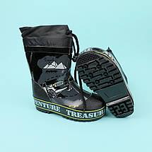 Дитячі Гумові чоботи для хлопчика тм Джип Bi&Ki розмір 25, фото 3