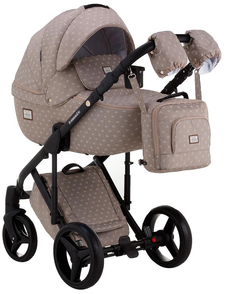 Дитяча універсальна коляска 2 в 1 Adamex Luciano Y42A