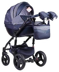 Детская универсальная коляска 2 в 1 Adamex Monte Deluxe Carbon D62