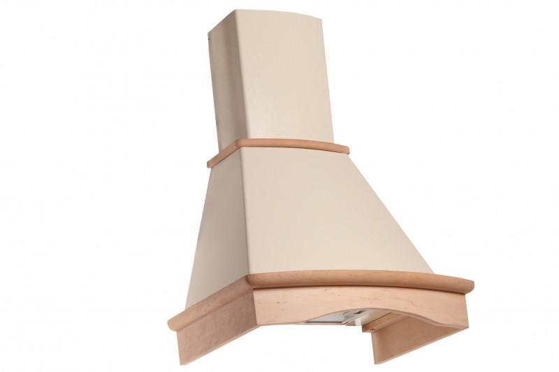 Кухонная вытяжка Eleyus Темпо LED Н 1200 / 60 (дерево неокрашенное)