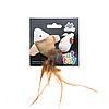 Игрушка для кошек Comfy рыбка и мышка 5-6см, 2шт