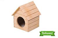 Домик для хомяка «Мрия» деревянный