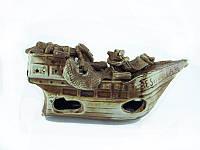 Декорация для аквариума керамическая  Корабль Эспаньола 25х12 см