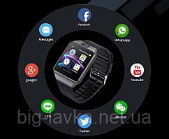 Розумні годинник Heartbeeps DZ09 Сірий