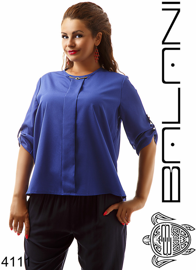 женская широкая блуза недорого