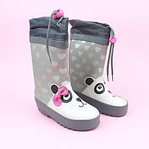 Резиновые детские сапоги девочке Панда тм Bi&Ki размер 24, фото 3