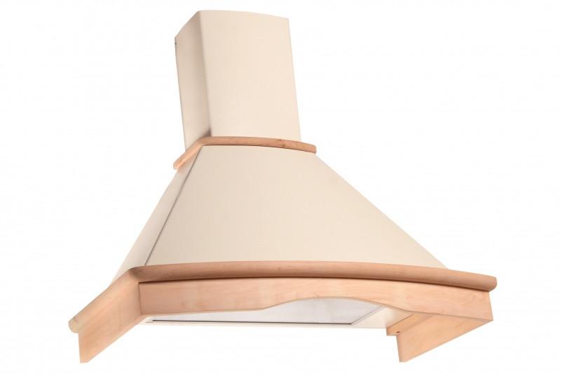 Кухонная вытяжка Eleyus Темпо LED Н 1000 / 90 (дерево неокрашенное)