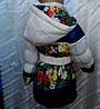 Женская детская куртка на пуху, фото 2