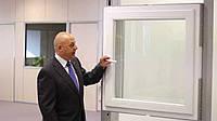 Окно Kommerling 70 ST Plus со скрытыми петлями энергосберегающее