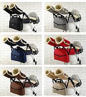 Комплект зимний Конверт, рукавички и сумка Z&D New