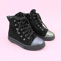 Зимние кожаные ботинки девочке тм Bi&Ki размер 28,29, фото 3