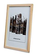 Фоторамка из дерева Сосна 1,5 см. (светлая) - для грамот, дипломов, сертификатов, фото, вышивок!