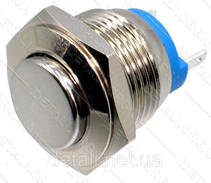 Кнопка антивандальная d18mm резьба 16mm h21mm 2 контакта