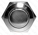 Кнопка антивандальная d18mm резьба 16mm h21mm 2 контакта, фото 4