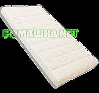 Матрас КПГ 120х60 гречка, поролон, кокос 7 см, детский, в кроватку Белый 22, фото 1