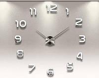 """Часы настенные 3D наклейки """"DIY"""" от 60 до 90 см (ZH521-S)"""