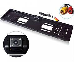 Камера заднего вида DliaTebe Камера заднего вида в рамке номера Teh JX-9488 (46657) SKU_46657