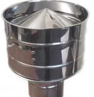 Дефлектор для  Димоходу з нерж. сталі 0,8мм ф180