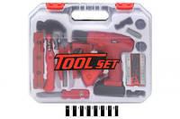 """Набор инструментов """"Tool Set"""", в чемодане T1801"""