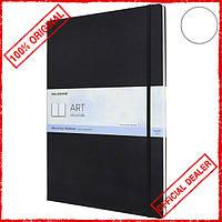 Скетчбук Moleskine Art А3 черный для акварели ARTBF855