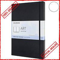 Скетчбук Moleskine Art А4 для акварели черный ARTBF837