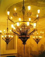 Кованые люстры, Эксклюзивный дизайн., фото 1
