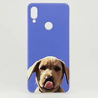 Чехол Print для Xiaomi Redmi Note 7 / Note 7 Pro силиконовый бампер Puppy