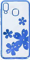Чехол-накладка TOTO Electroplate Print TPU Case Samsung Galaxy A20/A30 Flowers