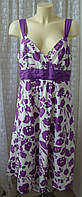 Платье женское сарафан летний хлопок миди бренд J.Taylor р.50