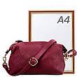 Женская сумка-клатч из качественного кожезаменителя  AMELIE GALANTI (АМЕЛИ ГАЛАНТИ) A991004-Dred, фото 5
