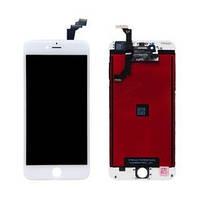 Дисплей iPhone 6, белый, с рамкой, с сенсорным экраном, Original