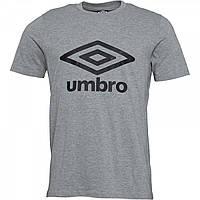 Футболка Umbro Active Style Logo Grey Marl/Black Grey Marl - Оригинал