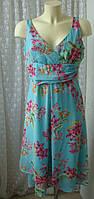 Платье женское летнее яркое миди бренд Nienhaus р.44