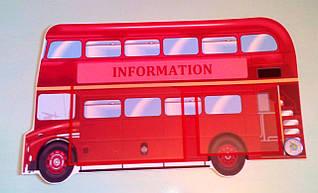 Стенд для кабинета английского языка. Автобус