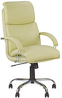 Кресло руководителя NADIR steel chrome (comfort)