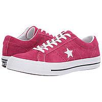 Кроссовки Converse One Star - Ox Pink Pop/White/White - Оригинал