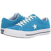 Кроссовки Converse One Star - Ox Blue Hero/White/White - Оригинал